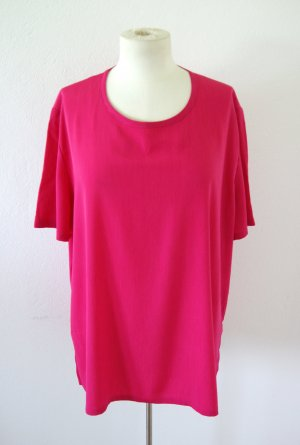 Vintage Camisa magenta-rosa