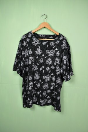 Vintage Shirt mit Blumen Print / Muster