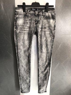 Amisu Vaquero skinny gris-gris antracita