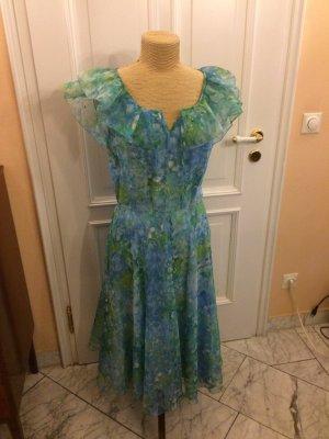 Vintage Sommer Midi Kleid Gr. 36 Hochzeit top
