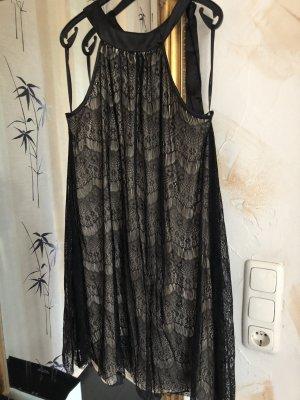 Vintage Sommerkleid / 2-lagig Gr XL