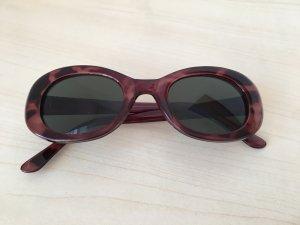 Vintage Sonnenbrille braun