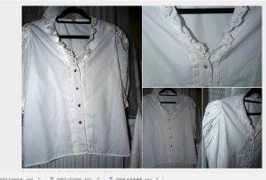 Vintage Spitzen Bluse L