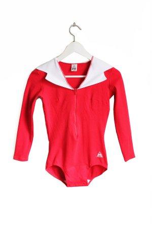 Vintage Sports Long Sleeve Gym Bodysuit