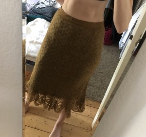 Vintage Knitted Skirt multicolored