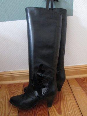 Vintage Stiefel 80er Peter Kaiser Echtleder Gr.4 1/2