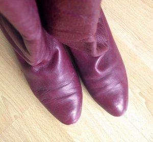 Vintage Stiefel Stiefeletten Retro mit schönen Details
