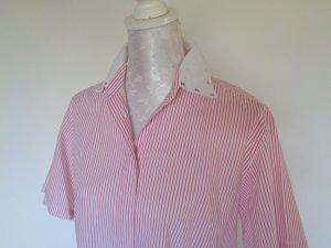 Blouse oversized rose-magenta coton