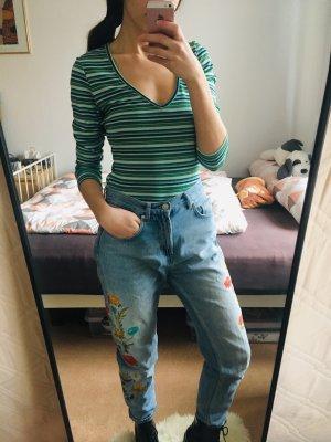 Vero Moda Gestreept shirt groen