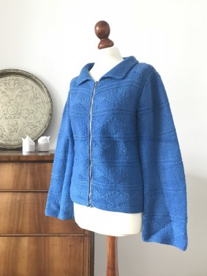 Giacca di lana blu