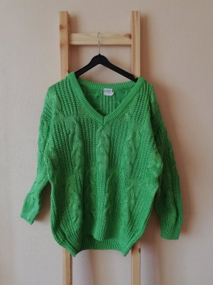 Vintage Knitted Sweater green
