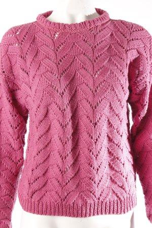 Vintage Strickpullover pink