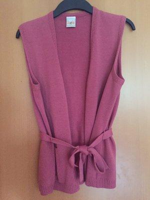 Lucia Gilet tricoté multicolore tissu mixte