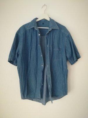 Vintage style Denim Bluse