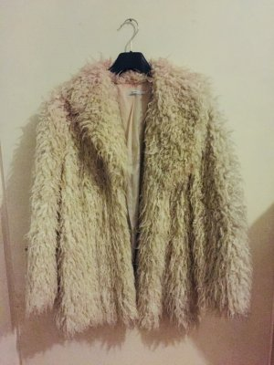 Vintage Style Fake Fur Coat
