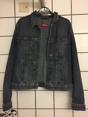 Vintage Style Jeans Jacke