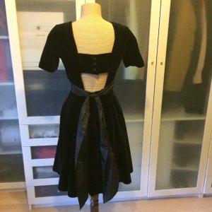 Vintage Swing Kleid aus Samt Gr. 36 top Zustand