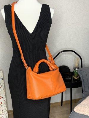 Crossbody bag neon orange