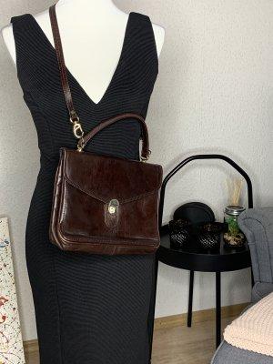 Crossbody bag black brown