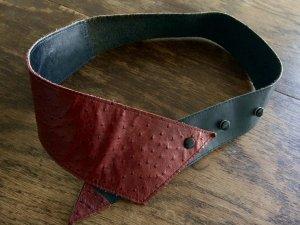 Vintage Taillen Gürtel Retro tailliert 50er Echtes Leder Leather Trend Blogger