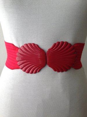 Vintage Taillengürtel mit Schliesse in Muschelform, passt Gr. 34-40