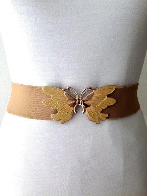 Vintage Taillengürtel mit Schmetterlings Verschluss, passt Gr. 34-44