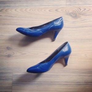vintage ++ TAMARIS only retro LederPUMPS High Heels ++ Rockabilly