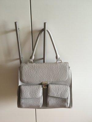 Vintage Tasche grau, Handtasche