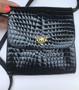 Vintage Tasche Kroko Sehr edel Leder
