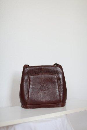 Vintage Borsa con manico marrone