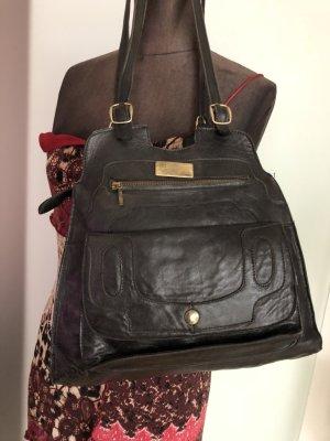Vintage Tasche Leder Nappa Kalbsleder Pat Fashion