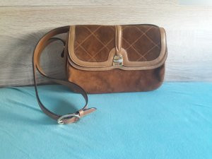 Frame Bag cognac-coloured leather