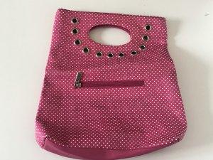 Vintage Tasche mit Punkten