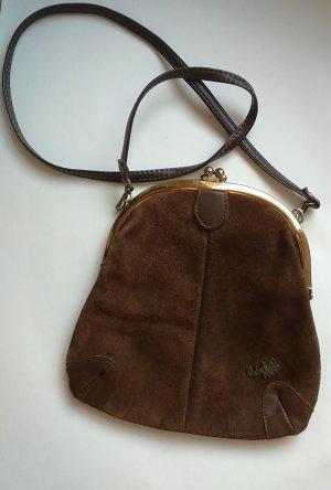 Vintage Tasche Valentino Paris Wildleder braun Top Zustand!