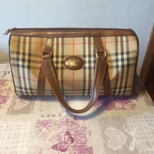 Burberry Sac à main multicolore lin