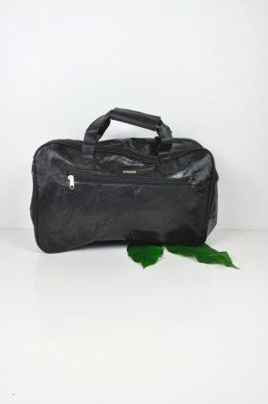 Vintage Tasche von Stefano in Schwarz und Silber