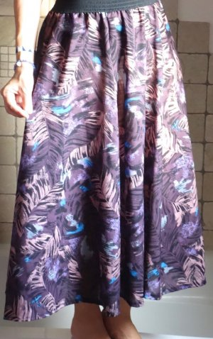 Flared Skirt black-grey lilac
