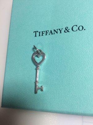 Vintage Tiffany Keys Herzschlüssel-Charm