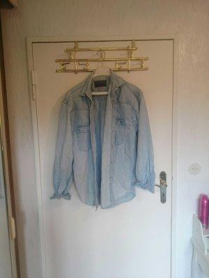 VINTAGE! tolles jeanshemd mit druckknöpfen