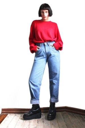 Vintage Tommy Hilfiger Knit Oversize Neck Sweater
