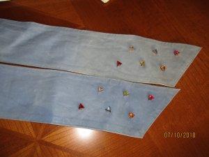 vintage top angesagter blauer Bindegürtel