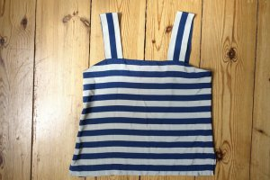 Vintage Top gestreift