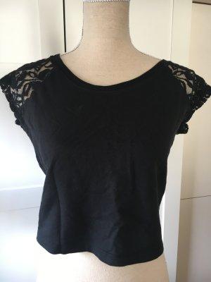 Vintage Haut basique noir