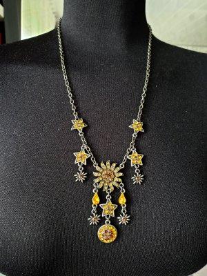 Necklace yellow-dark yellow