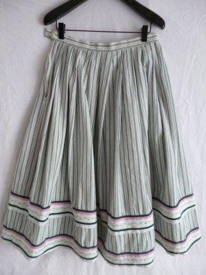 Vintage Trachtenrock aus Baumwolle