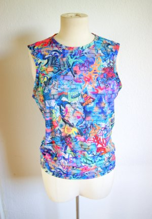 Vintage Trash Shirt Graffiti print, buntes Top urban Streetstyle