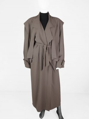 Vintage-Trenchcoat aus Material-Mix
