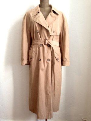 Vintage Trenchcoat mit warmem Futter, Gr. 42