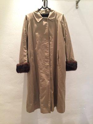 Burberry Trench Coat camel-black brown pelt