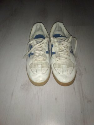Asics Lace-Up Sneaker white-steel blue